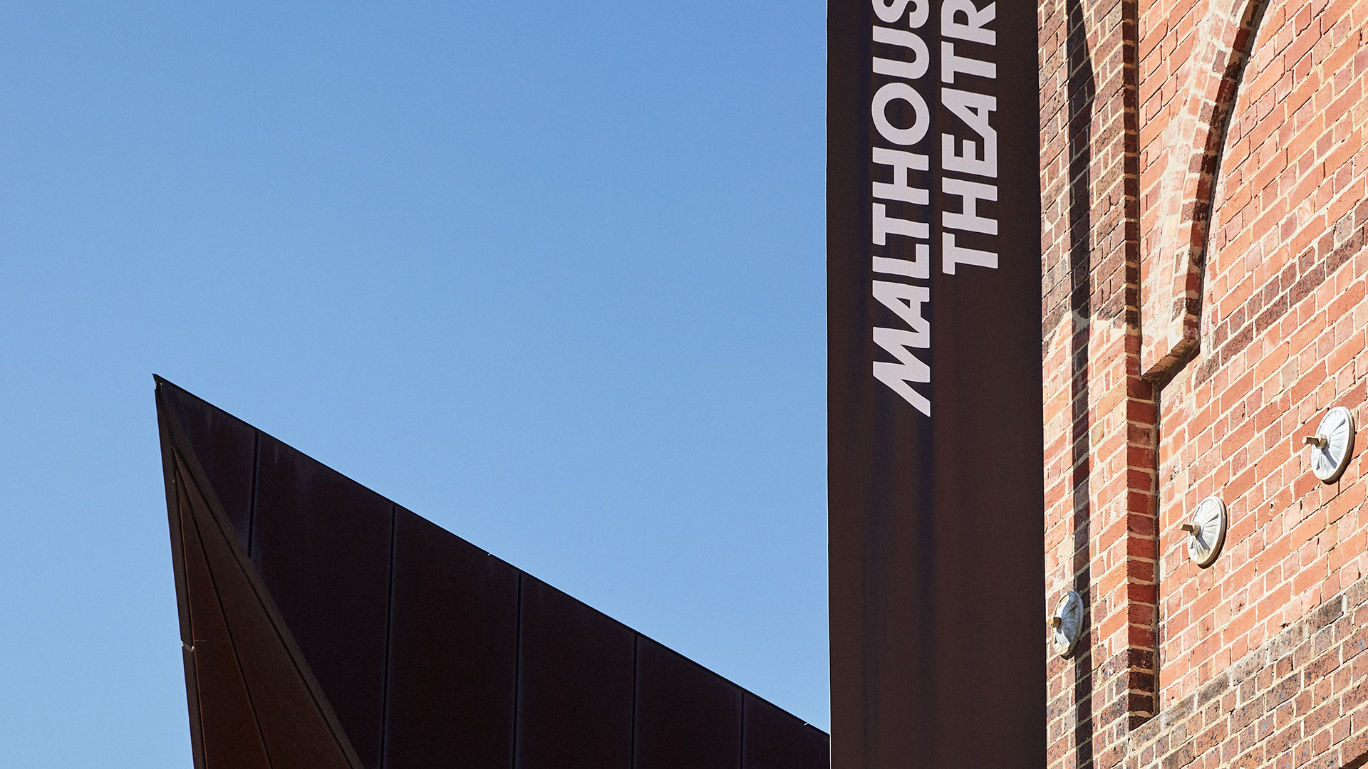 Malthouse theatre sign